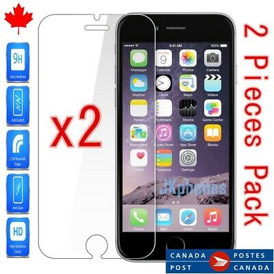 "Tempered Glass Screen Protector For iPhone 6 & iPhone 6S  - 4.7"" (2 Pieces)"