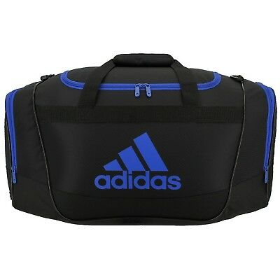 8592ba4fd141 ADIDAS DEFENSE MEDIUM Duffel Unisex Gym bag luggage Black/Dark Red ...