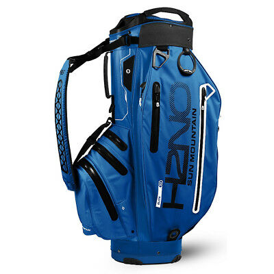 Sun Mountain H2NO Elite Cart Golf Bag - Cobalt/Black