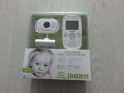Uniden BW3001 Wireless Voice & Picture Baby Monitor