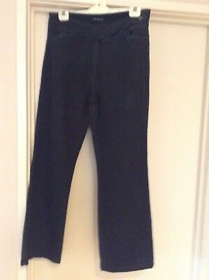 Charcoal Boot Leg Jeans Size 16