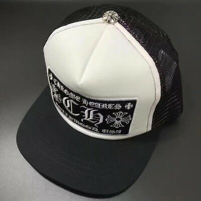 c54b084c978 AUTHENTIC  CHROME HEARTS  Mesh Trucker Cap with CH Patch ( Choose ...