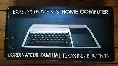 TEXAS INSTRUMENTS TI99 Ti-99/4a HOME COMPUTER in OVP - NUR 5 TAGE!