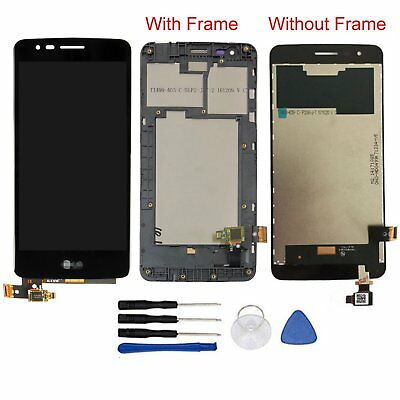 For LG K8 2017 X240 X240I X240F/H LCD Display Touch Screen Digitizer with Frame