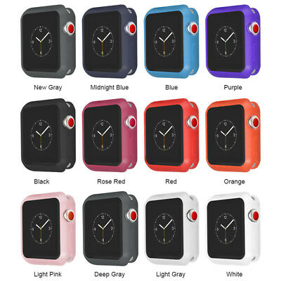 For Apple Watch Series 4 Protective Cover TPU Bumper Frosted Case iWatch 40/44mm