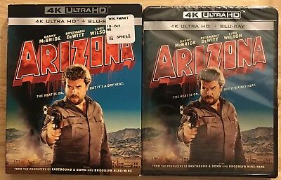 Brand New Arizona 4K Ultra Hd + Blu Ray 2 Disc Set With Slipcover Free Shipping