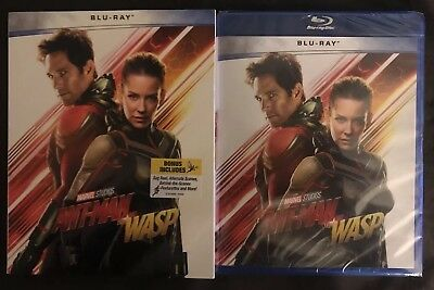 Brand New Ant-Man And The Wasp Blu Ray Walmart Exclusive With Slipcover