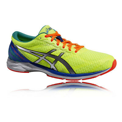 ASICS Gel-DS Racer 10 Mens Green Lightweight Support Road Running Shoes  Trainers f2b3a54a7ab