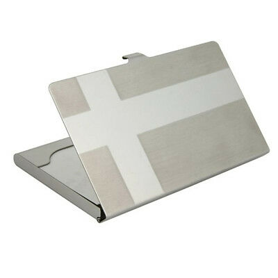 New Stainless Steel Wallet Card CardCase Card Holder Name ID Credit Business