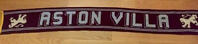 From the late 80s: Aston Villa FC Scarf