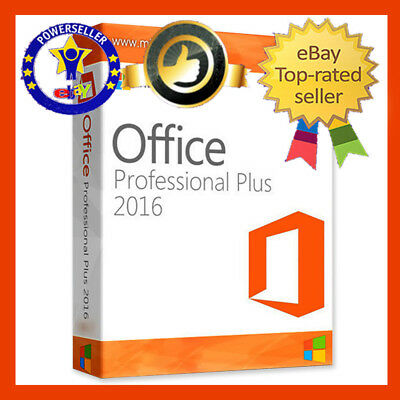 MICROSOFT OFFICE 2016 PRO PLUS 32 / 64-Bit KEY DOWNLOAD LINK Product + Tutorial