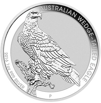 Australien - 1 Dollar 2016 - Wedge-Tailed Eagle - 1 Oz Silber ST
