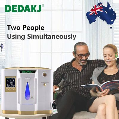 1-6L/min Portable Full Intelligent Home Oxygen Concentrator Generator Machine AU