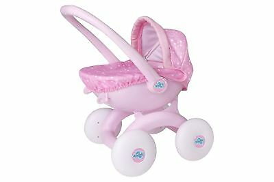 Dream Creations Pink Push Along 4 in 1 My First Pram