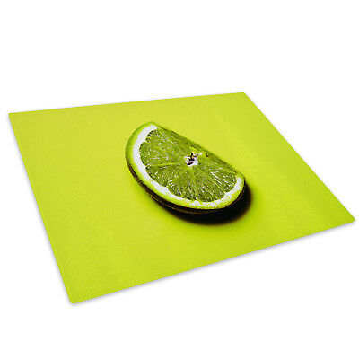 Green White Black Lime Cool Gl Chopping Board Kitchen Worktop Saver Protector