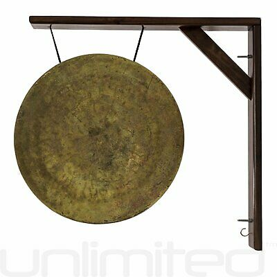 "18"" to 22"" Gongs on the Great Wall Gong Hanger - Brown"