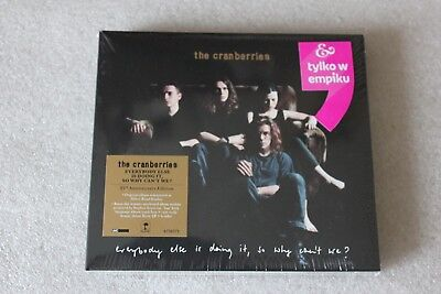 The Cranberries - Everybody else is doing it... 2CD NEW SEALED POLISH STICKERS