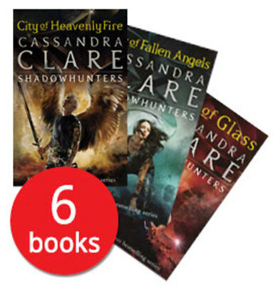 Mortal Instruments (Shadowhunters) Collection - 6 Books
