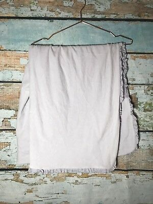 Restoration Hardware Baby Child Blanket Lilac Velour Cotton Luxury 38x38