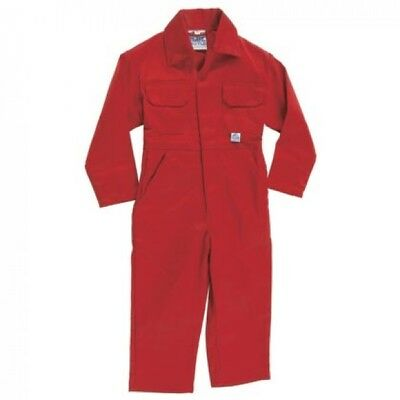 Kids Plain Red Boilersuit Overalls. New, £10. Suits Boys, Girls & Little Farmers
