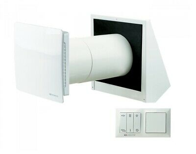 Twin Fresh Ra 1-50 Decentralized Domestic up to 90% Heat Recovery Decorative