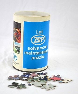 Zep Promo Puzzle in Canister - Let Zep Solve Your Maintenance Puzzle