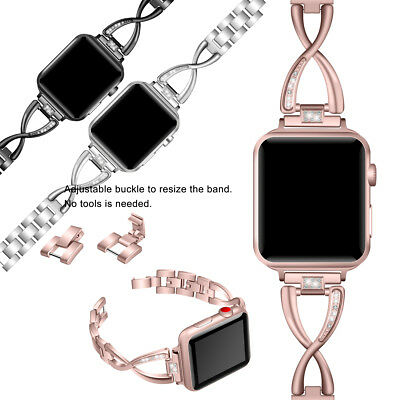 Stainless Steel Band Strap For Apple Watch iWatch Series 1 2 3 4 38 42 40 44mm