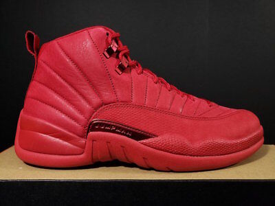 NEW DS Nike Air Jordan Retro 12 XII Retro Bulls Toro Gym Red Black 130690-601