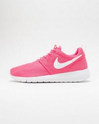 separation shoes 582ed 5a889 Nike Grand Enfants Roshe One (Gs) Chaussures Baskets Hyper Rose 599729 609  Sz