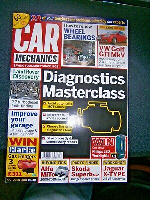 Car Mechanics Magazine October 2018 (new)