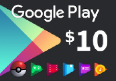 Google Play Gift Card NORTH AMERICA