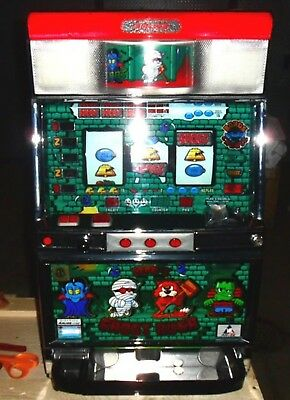 Quarter Pachislo Ghost Rush 4 Reel Slot Machine / 297 Pg Manual
