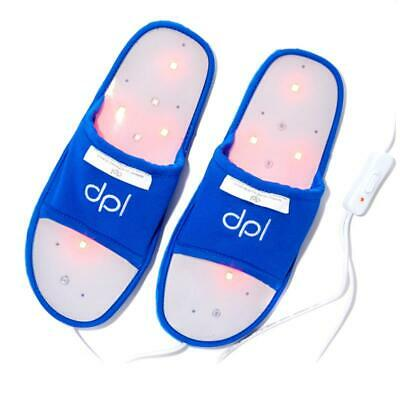 dpl Flex Deep Penetrating RED Light Therapy Pain Relief Foot Slippers LARGE NEW!