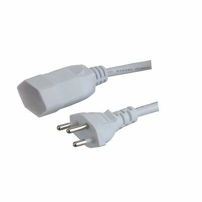 Valueline Swiss Power Cable CH Type 12 to CH Type 13 5m Black (VLEP11230W50)