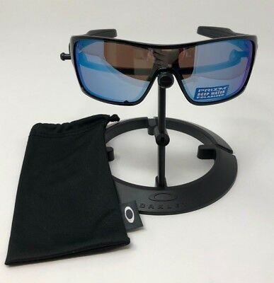 813041b8bc0 AUTHENTIC Oakley Turbine Rotor Polished Black Polarized Deepwater OO9307-08