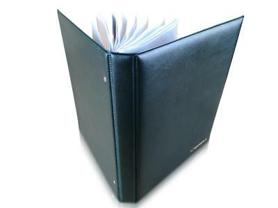 Banknote Album SCHULZ Folder Book Pages Sleeves For Banknotes Collection [Black]