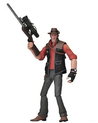 """Team Fortress 2 - 7"""" Scale Action Figures - Series 4 RED - Sniper - NECA"""