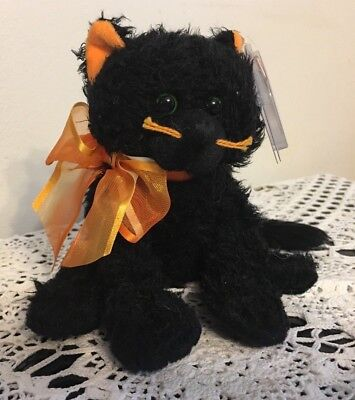 Ty Beanie Babies Moonlight Black Cat Retired MWMT with Tag & Protector