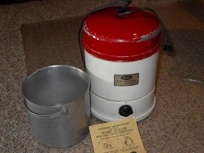 Vintage Home Health Pasteurizer Waters Conley, used in good condition