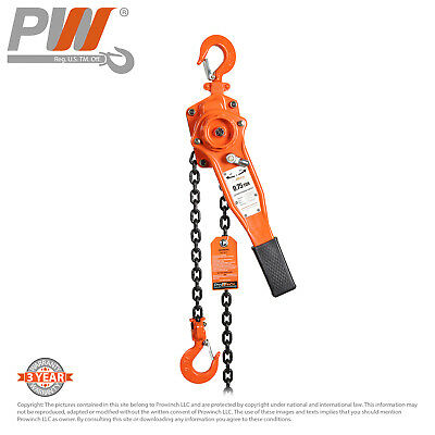 ProWinch Mini Lever Chain Hoist 3/4 ton