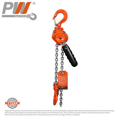 ProWinch Mini Ultra Light Lever Chain Hoist 1/2 ton