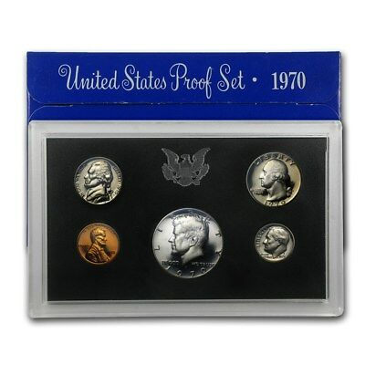 1970 United States. Proof Set -- 5 coins set -- Free Shipping *