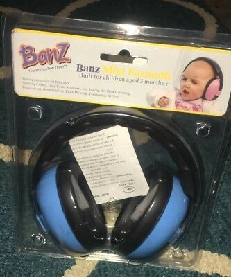 Baby Banz Earmuffs Infant Hearing Protection – for Age 3 months +