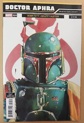 BOBA FETT Galactic Icons VARIANT Cover ~ DOCTOR APHRA # 24 Comic ~ NM/UNREAD