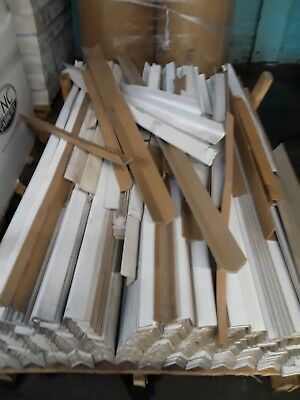 "50 Pieces of 6' Long Medium Duty Cardboard Corners 2.25"" x 2.25"" , 0.160 Thick"