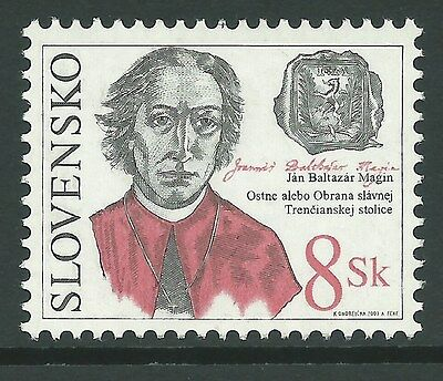 Slovakia 2003 - Defense of Trencín Famous Historical District - Sc 439 MNH
