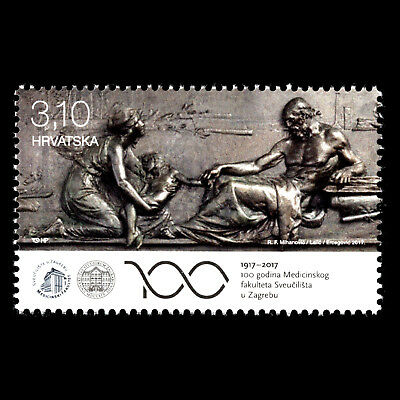 Croatia 2017 - 100 Years of the Medicine at the University of Zagreb - MNH