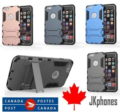 For iPhone 6 Plus 6S Plus Case Hybrid Shockproof Hard Heavy Duty Rubber Cover