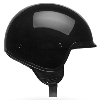 Bell Scout Air Gloss Black Classic Open Face Motorcycle Motorbike Helmet