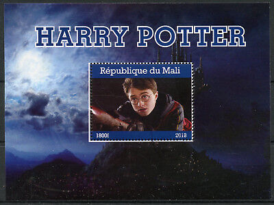 Mali 2018 CTO Harry Potter Daniel Radcliffe 1v M/S Movies Film Stamps